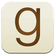 Letter G on tan background